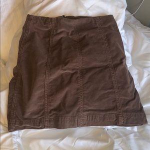 Free people mauve skirt